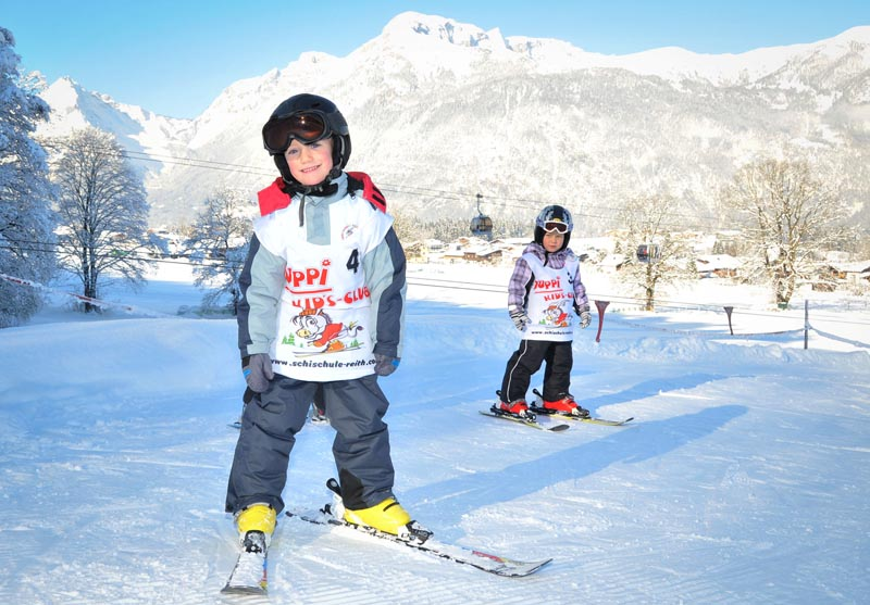 Ski Courses and Children's Entertainment